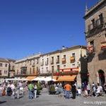 Ciudad Rodrigo en el Camino de Torres.