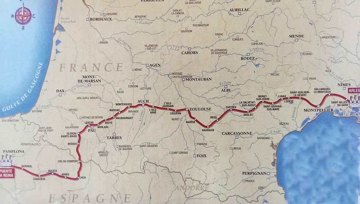 Camino de Arles
