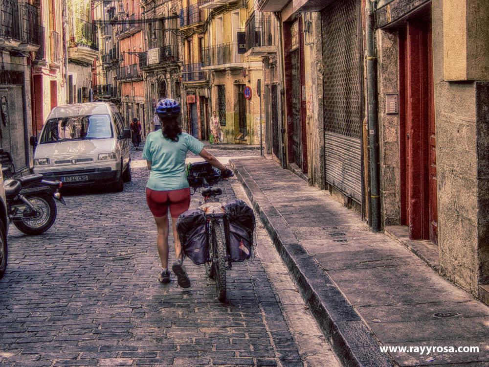 Entrando en Pamplona