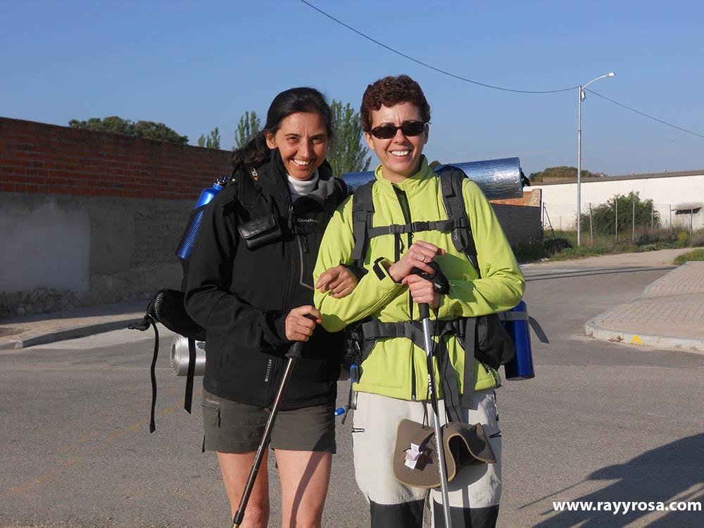 Saliendo de Alcazarén