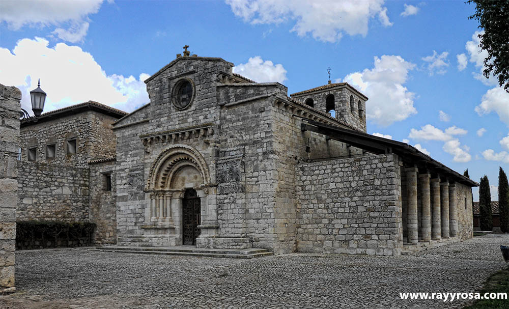 La impresionante iglesia románica de Wamba (s.X)
