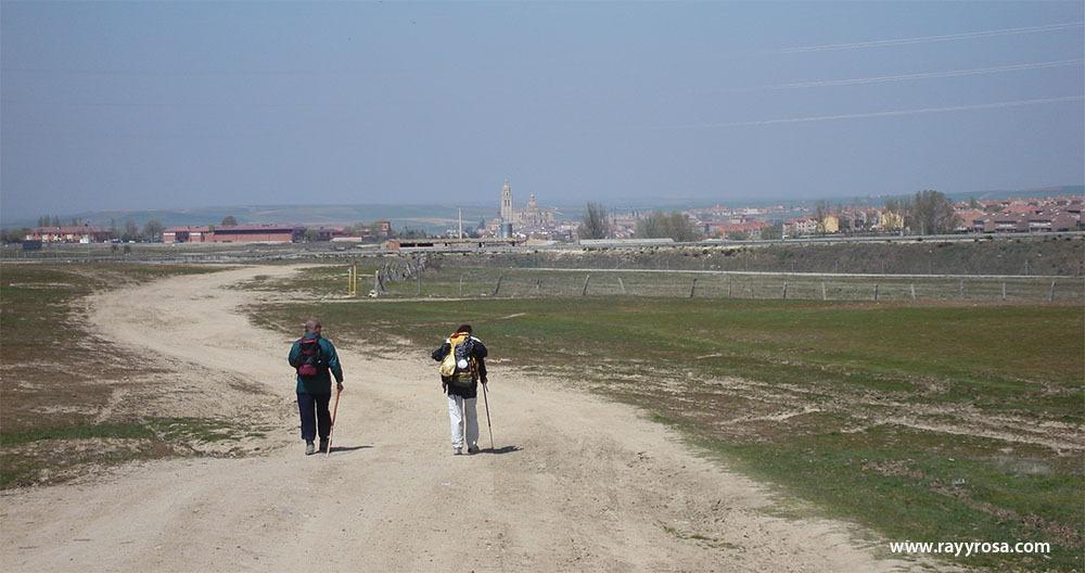 Por fin llegando a Segovia