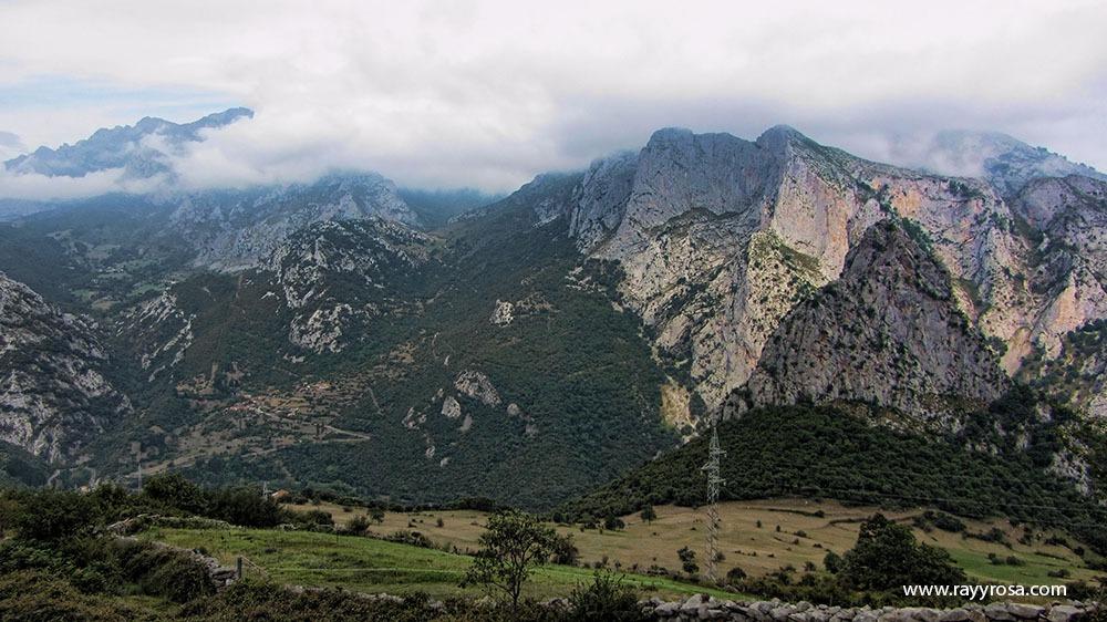 Ándara, el Desfiladero y este lado Cuetu Valle